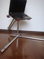 hot sale Silver   x-feets+mouse tray new style Nottable laptop stand,a concept produc