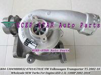 NEW K04 K04VTG 53049880032 070145701E Turbo Turbine Turbocharger Fit For VW VOLKSWAGEN T5 Transporter 2002-2010 AXD 2.5L 130HP