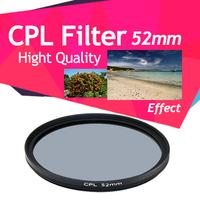 52mm circular polarising cpl filter for Nikon D3100 D3200 D5100 D5000 D3000 D40 kit