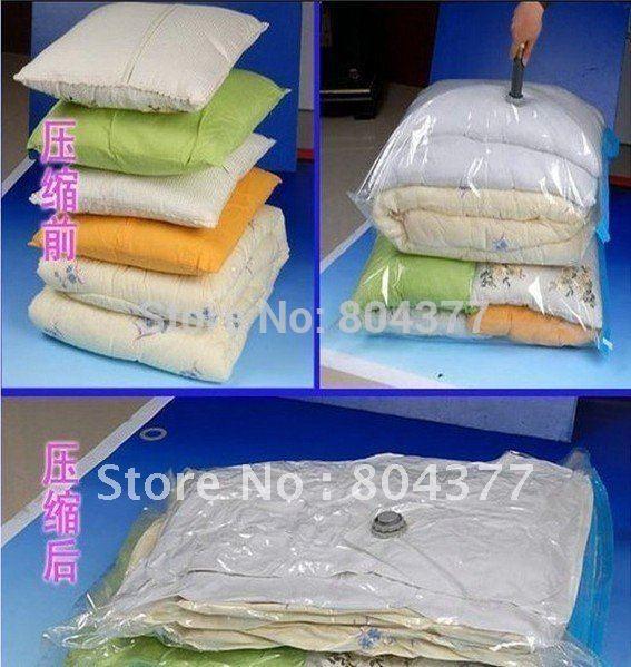 Free Shipping Vacuum Storage Bag/Space Saver Saving Storage Bag Vacuum Seal Compressed(China (Mainland))