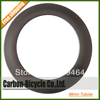 88mm tubular carbon rim, track rim