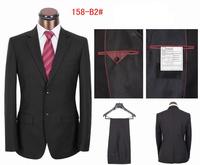 Hot Sale Men's Fashion Business Suit Handsome Wedding  Black Suiit  Dress Tuxedo Jacket+Pants+(Vest) S-4XL New 2014