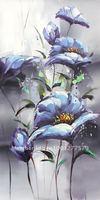 Handmade Art home Hotel Decor Impression High Q.Flower Oil Paintings Free Shipping