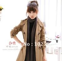 Free  Shipping: 2013  new  arrivals  women's  elegant   wind  coat                          Li120100