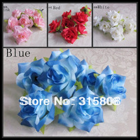 Free shipping New arrival (100pcs/lot) artificial rose wedding decorations flowers 4 for choise 5.5cm FL010