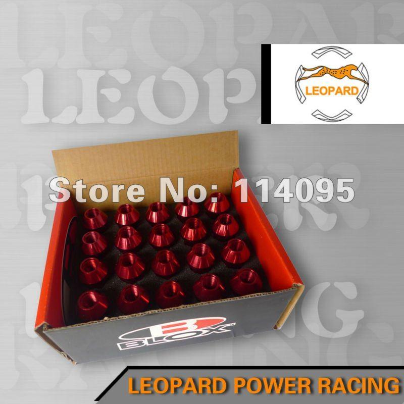 Автомобильные держатели и подставки BLOX LUG LUG m12x1.5mm Aluminum7075