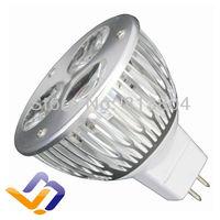 MR16 LED Spot Light Bulbs Lamp Warm white 3X1W High Brightness DC 12V