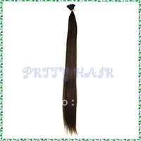 Wholesale 3*50pcs/Lot, Color #4 4 Size, Straight I-Tip Remy  Human Hair Extensions,5165