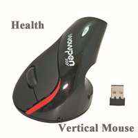 WOWPEN 2.4G Wireless Vertical Ergonomic Mouse With Chargeable Built-in Battery For PC Or Notebook