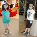 angeno brand  2013 new  Style 100% cotton short-sleeved baby suit Summer clothing  children clothes