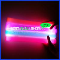 free shipping 400pcs/lot 4*40cm multi color changing led foam stick foam glow stick  for Christmas