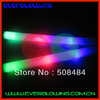 hot sale free shipping 25pcs/lot 4*48cm 3 modes led foam stick foam glow stick for Christmas
