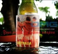 Free Shipping to AU!Custom Imprint Aussie Neoprene Slimline Wedding Stubby Holders WITH BASE, Stubbie Coolers,Beer Koozie Coolie