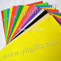 100PCS/(10bags)/LOT.1mm 10 color Foam sheets,Sponge paper,Foam paper, crafts.School projects.Craft material.Punch foam,19X29cm