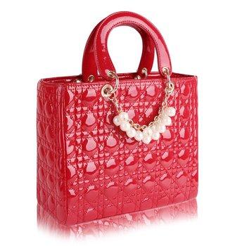 2012 vintage women wamen   ladies' handbags handbag color block candy color plaid bag female popular bag LL8842