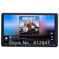 In Dash 2 Din Car Radio Head Unit Android 4.0 WIFI 3G GPS Ipod MP3 CD DVD Player Carpc