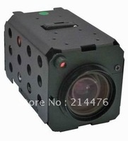 """22X camera module with 1/4"""" CCD, double IR filter, 540TVL"""