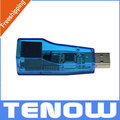 USB 2.0  to Ethernet LAN Network  Adapter RJ45 10/100Mbps for Tablet PC Laptop,supports WinXP Linux, Free shipping