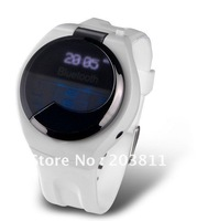 Magic bluetooth watch with keyboard dial and answer call and show coming call id and name