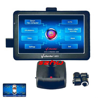 "7"" 800*480 Win CE 6.0 OS ARM9 600MHZ Smart Trip Computer + GPS + TPMS + Oil statistics, Universal OBD Car doctor, free shipping"