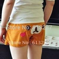 Free Shipping Kawaii Rilakkuma Bear Shorts Beach Pants,Home Shorts, Pajama Pants Cartoon,Casual Shorts Retail
