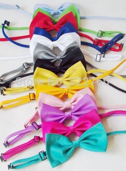 120 pcs pet dog product cat collar necktie bow new cat toy free shipping
