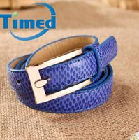 Ms han edition joker fashion exquisite  belts aureate agio serpentine waist authentic leather belt