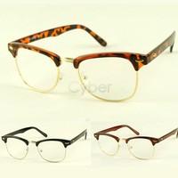 New Fashion Korean Framed Glasses Plain Glass Spectacles Free Shipping 7715