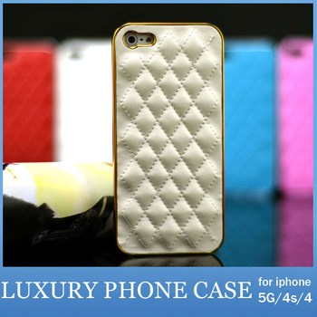 10pcs/lot Wholesale Luxury Case For Apple iPhone 5 4S 4 Cell Phone pu Leather Cover Shell For iPhone5 5G FREE SHIPPING