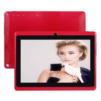 Newest 7inch HDMI tablet Action ATM7021 dual core dual camera Q88 android tablet pc 512MB RAM 4GB ROM android 4.2 capacitive
