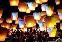 Wishing Lamp SKY Chinese Lanterns Birthday Wedding Party Christmas Outdoor Sky Lamp 25 Pcs/Lot