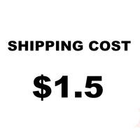 $1.5 shipping cost