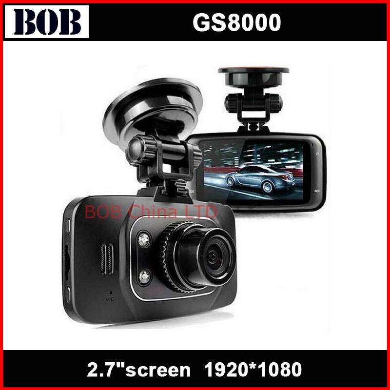 New Original GS8000 Car DVR Camera Recorder Dash Cam with G-sensor HDMI GS8000L Night Vision(China (Mainland))