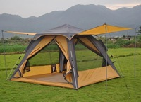 Retail Instant tent with big mosquito mesh Automatic camping tent 3-4 person 2-layer  Free shipping