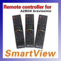 free shipping satellite receiver Azbox bravissimo Remote Controller 1pc