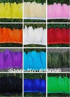 Free shipping, 2 yards/lot FeathersTrim Fringe,goose feather duck Feather Trim Selectable for Dress/Christmas/Halloween