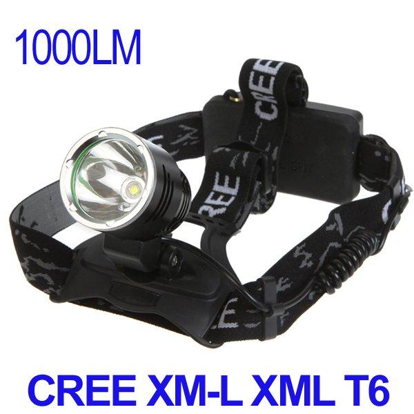 Налобный фонарь OEM 3 CREE xm/l XML T6 1000LM Rechageable H9020
