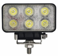 free shipping 18W LED Offroad Work Light ,spotbeam ,floodbeam for Truck ATV SUV Jeep Boat OffRoad Tractor