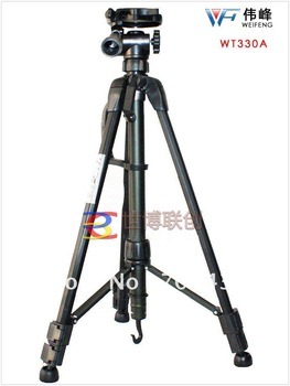 Free shipping Special wholesale  WT3730 professional SLR camera tripod portable tripod bracket gift packets