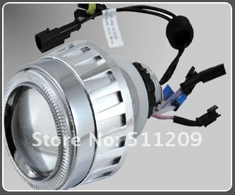 Bi-Xenon HID Projector Lens 2.5 Light/ hid angel eyes G5/ xenon hid projector AND 2pcs CANBUS Ballast-free shipping(China (Mainland))