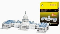 THE CAPITOL HILL 3D PUZLLE  DIY TOYS