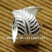 2pcs Ear Stud Ear Cuff 925 Sterling Silve Ear Clips feather Cartilage Wraps Clip Non-pierced Earring jewelry gifts 3#