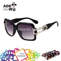 Free Shipping Vintage Brand Sunglasses Unisex Big Size Squared Retro Sun Glasses Men Alloy Frame oculos de sol feminino