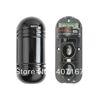 Perimeter Burglar Alarm OUTDOOR & INDOOR Active Infrared Detector Sensor photo eye work with GSM/PSTN alarm system alarm host