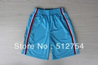 Free Shipping,Hot sale basketball shorts,Los Angeles 2012 new material Rev 30 shorts,embroidery logos,Size S-XXL