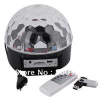 DMX Control Digital LED RGB Crystal Magic Ball Effect Light for Stage Party Disco DJ Bar Lighting EU/US/UK Adapter Dropshipping