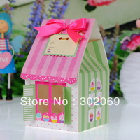 Wholesale and retil  PVC window single cupcake box   ( BF171A)