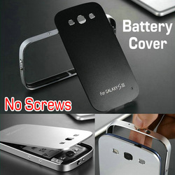 Brushed Aluminum case for samsung s3 i9300 hard back with FREE Screen Protector, Ultrathin metal cover for galaxy siii,3 styles!(China (Mainland))