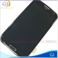 Dark Blue,White For Samsung Galaxy S III S3 i9300,Original LCD + Digitizer Touch screen digitizer + Middle Panel,Free shipping