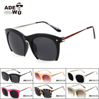 Drop Shipping New Cat Eye Sunglasses Brand Designer Women Semi-rimless Glasses Vintage Sunglass oculos de sol